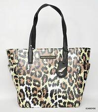 Nwt $195 Diane Von Furstenberg Ready To Go Pocket Tote Shopper Bag ~Leopard
