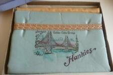Golden Gate Bridge San Francisco Souvenir Hankie Nylons Holder Iob