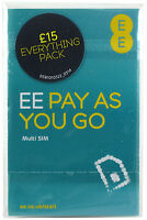 EE Sim Card - Standard/Micro/Nano all in one (ONLY 20p)
