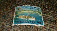 Vintage Cancelled stamp Navigatia Europeana De Dunare Orsova Dierna Posta Romana