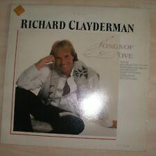 RICHARD CLAYDERMAN - Songs Of Love (Vinyl Album)