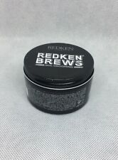 REDKEN BREWS Wax Pomade 3.4 fl oz/100 ML **BRAND NEW Dented Can
