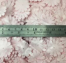 500 Soft Pink Small Daisy Die Cut Petal Paper Wedding Craft Card Making P70-2