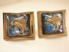 -Marlin Sailfish Vintage LARGE HICKOK USA Cuff Link