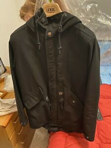 giacca giaccone Carharttwip Parka Clash nero come nuovo invernale