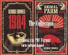 CD - George Orwell Collection - 1984 - 12 eBooks