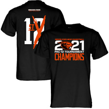 Oregon State Beavers 2021 PAC 12 Men's Basketball Tournament Champions Shirt