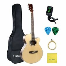 """Acoustic Guitar Package 40"""" Inch  NATRUAL Guitar w/STARTER PACKAGE KITS"""