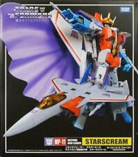 NEW TRANSFORMERS MASTERPIECE MP-11 STARSCREAM G1 ACTION FIGURES F-15 MODEL BOXED