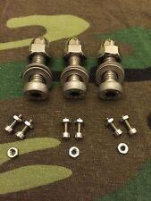 STAINLESS STEEL OPTI POLO BOLTS SNAG EAR BOLTS TO FIT 3x OLD SCHOOL BITE ALARMS