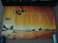 Stephen Murray Oakley BMX Poster Display Industrial Denim