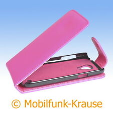 Funda abatible, funda, estuche, funda para móvil para Samsung Galaxy S 4 mini LTE (Rosa)