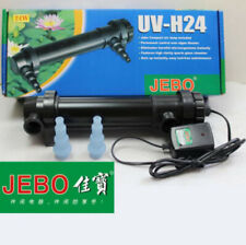 JEBO UV 24W Wattage Sterilizer Lamp Light Ultraviolet Filter Clarifier Aquarium