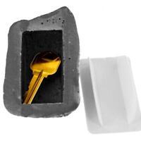Outdoor Hide Keys Realistic Rock Key Holder Diversion Safe BB