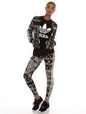 adidas Original Damen Paisleymuster Trainingsjacke & Leggings - Set (B-ware)