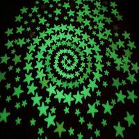 28 stelline luminose fosforescenti luminose NON TOSSICHE materiale certificato