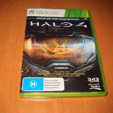 XBOX 360 GAME : HALO 4 + BOOKLET MANUAL