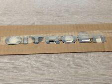 Genuine Citroen Self-Adhesive Lettering Letters Badge Emblem Sticker Stickers