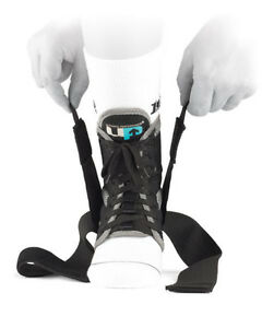 UP 5720 Advanced Ankle Support Stabilizer with CrossOver Strap Prevent Heel Pain