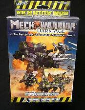 Wizkids MechWarrior Dark Age Starter Set Factory Sealed from 2002 BattleTech