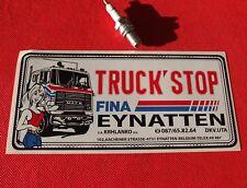 Truck Stop BELGIUM STICKER