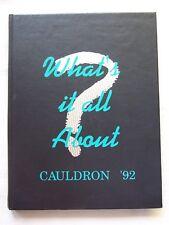 1992 HUNTINGTON BEACH HIGH SCOOL YEARBOOK HUNTINGTON BEACH, CALIFORNIA UNMARKED!