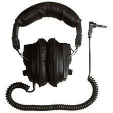 "Treasure Wise 1/4"" Angled Plug Metal Detector Headphones for Treasure Hunting"