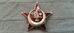 Orden Eiserner Halbmond Gallipoli Star genietet Herstellung um 1957