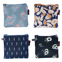 Women Portable Small Bag Personal Sanitary Napkin Tampons Holder Storage Bag