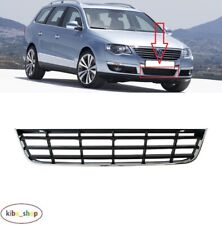 Griglia RADIATORE ANTERIORE Top Chrome Frame nero finiture VW Passat B6 3C 2005-2010 NUOVO