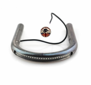 "Cafe Racer Steel Loop 25.4mm /1"" Motorcycle Bike Brat Tracker + LED Light Strip"