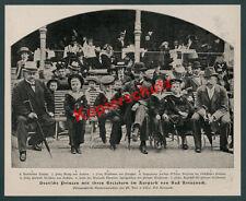 Ph. Does dt Prinzen Wettin Hohenzollern Adel Kurpark Rietzsch Bad Kreuznach 1900