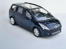 Norev 3 inches 1/60. Peugeot 5008 Mk1 Boite Peugeot bleue   . Neuf