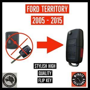 FITS FORD TERRITORY SY SZ REMOTE FLIP KEY 2005 - 2015