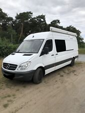 MERCEDES SPRINTER RACE VAN MOTORHOME 2012 62 CAMPER GARAGE MX MOTOCROSS ENDURO