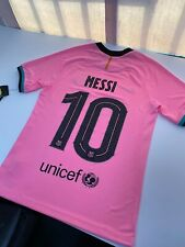 FC Barcelona Fc Barcelone T-Shirt Lionel Messi Football Club Espagne Tee Shirt Adulte Barca N/°10 Collection Officielle