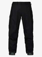 Burton - Men's True Black Relaxed Fit Cargo Pants  size Large NWT
