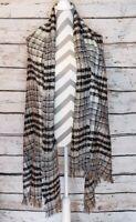 Winter Blanket Wrap Scarf Cozy Warm Large Shawl Oversized Plaid Long  Tartan