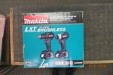 MAKITA CX200RB 18V SUB-COMPACT LXT BRUSHLESS LI-ION 2PC COMBO KIT DRIVER-DRILL/I