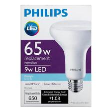 9w Philips LED 65W Equivalent Daylight 5000K BR30 Dimmable LED Bulb 650 Lumens