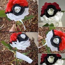 100 Stück schwarze Perlen Rose Samen Rose-Blumensamen Pokemon Schönheit Garten T
