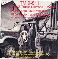 T010 TM 9-811 4-Ton, Diamond T Trucks