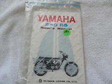 Yamaha 350 R5 Motorcycle    Owners Manual