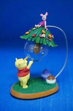 Disney Winnie the Pooh Mini Snowglobe Figurine Beehive Pooh & Piglet 17729