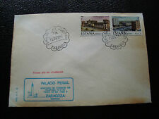 ESPAGNE - enveloppe 12/10/1977 (2eme choix enveloppe jaunie)(cy24)spain