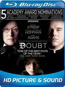 Doubt (Blu-ray Disc, 2009) Blu-Ray