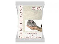 5 kg 10 kg 25 kg 30kg Chinchilla Sand, Naturweiß, sehr  fein,  Chinchillasand