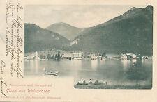 AK Gruss aus Walchensee, Bayern   14/11/14