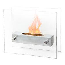 Divina Fire Biocamino bioetanolo design moderno interno esterno tavolo BOSTON