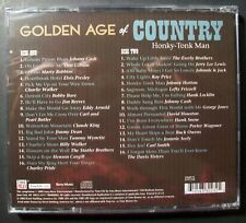 Golden Age of Country: Honky-Tonk Man by Various Artists (2 CD, 2011, TIME LIFE)
